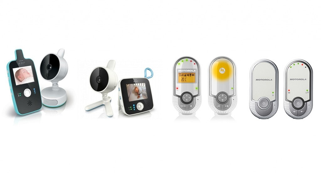 Comparativa vigilabebés: Philips Avent SCD603, SCD610 vs Motorola BP11, BP16
