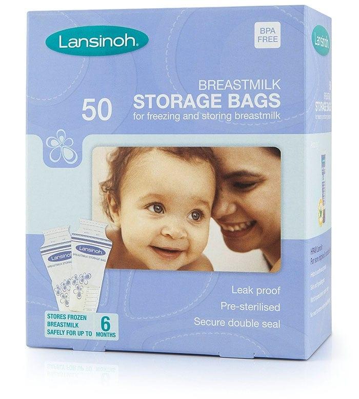 bolsas de almacenamiento de leche