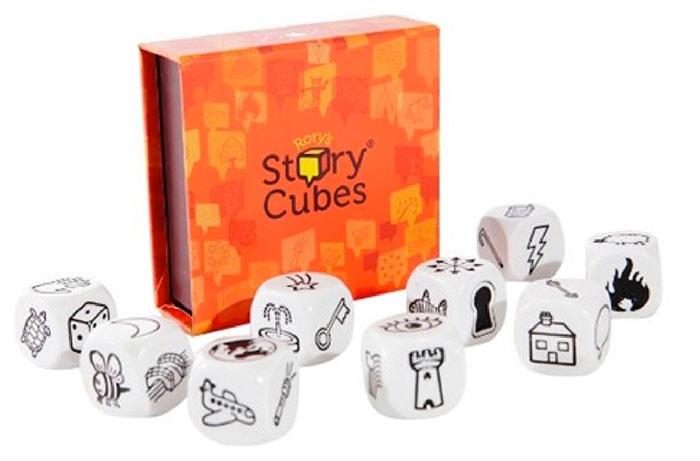 Asmodee - Story Cubes, juego educativo