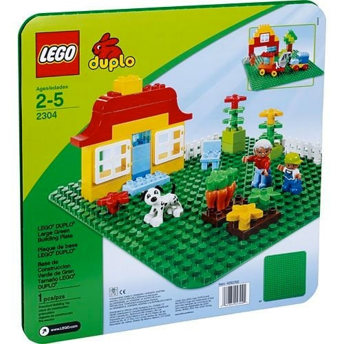 LEGO Bricks & More - Plancha verde