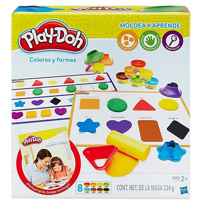 Play-Doh Aprendo colores y formas