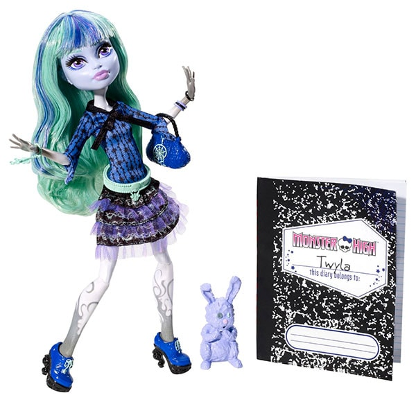 Monster High - Muñeca Twyla, 13 Wishes