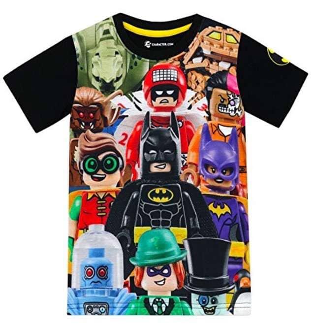Lego Batman - Camiseta para niño Lego Batman