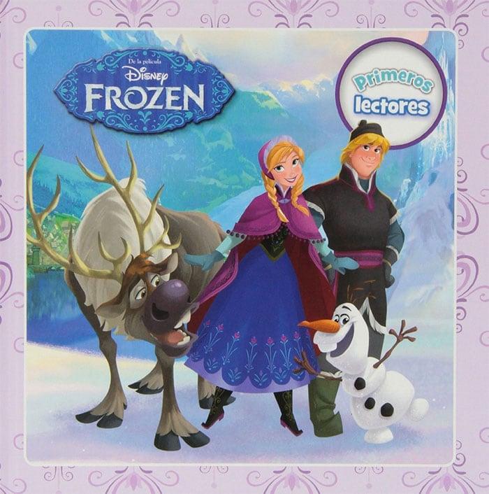 libro frozen cuentos
