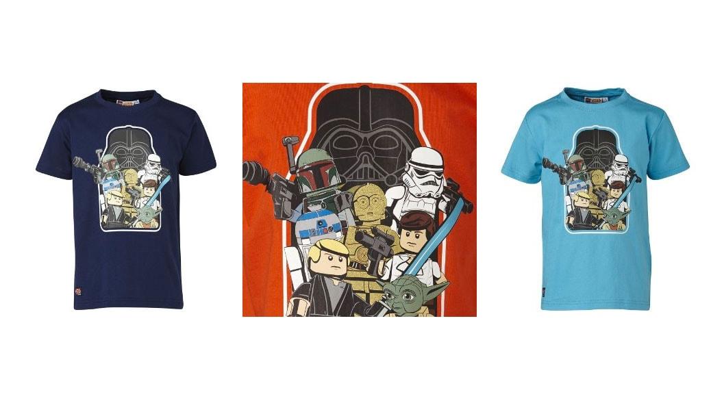 Camisetas de LEGO Star Wars para niños
