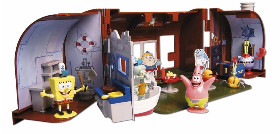 Simba Smoby Spongebob - Crusty Crab Playset (Simba 9498844)