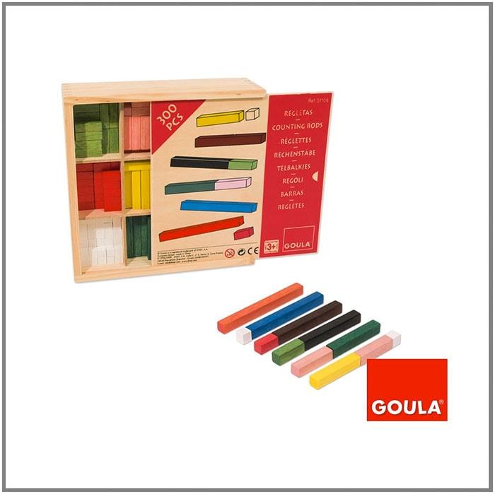Cómo enseñar a tu hijo pequeño matemáticas: con tablillas de madera