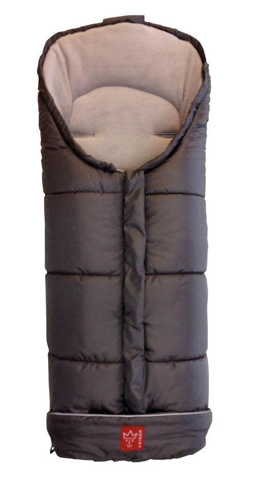 Kaiser Iglu - Saco cubrepiernas de forro polar para silla de paseo, en color gris claro.