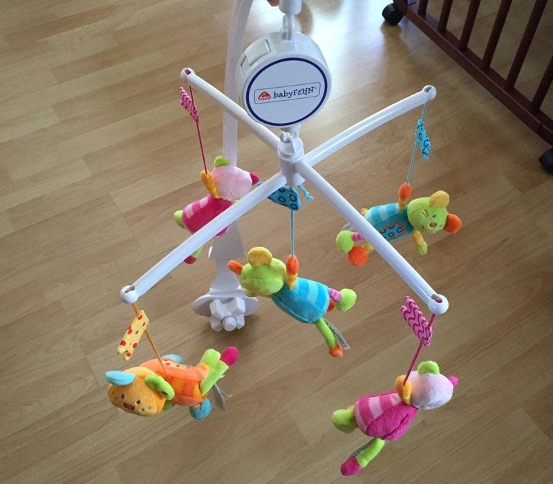 Fehn 142495 Robos - Móvil de cuna musical para bebés por unos 20 euros - Opinión y análisis