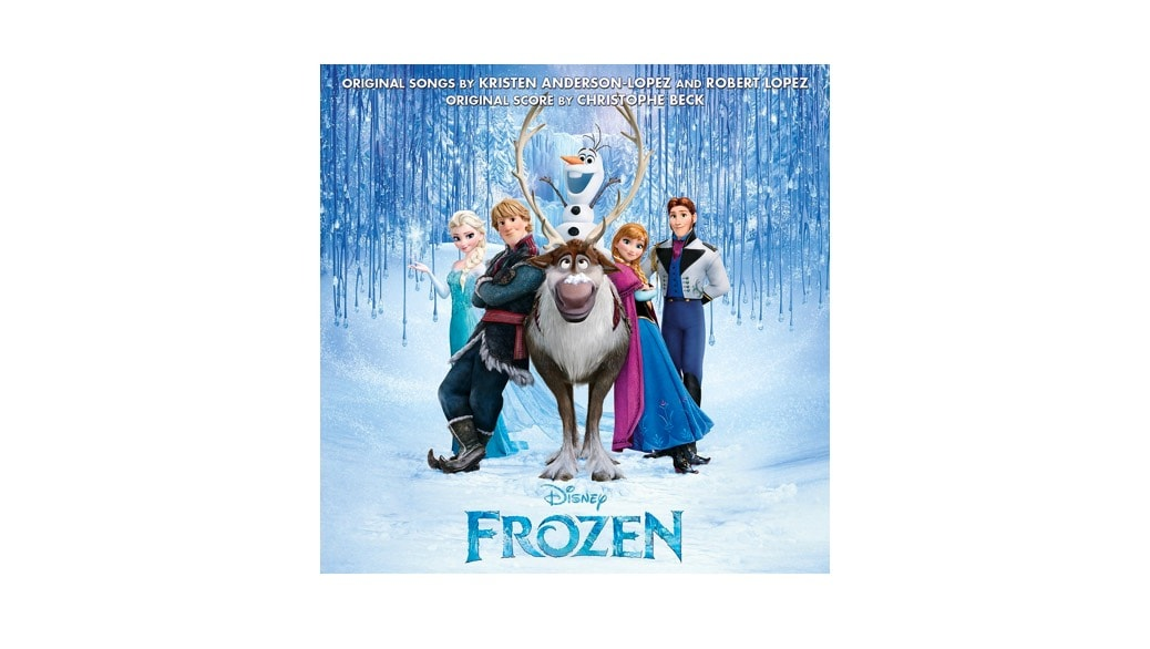 Dónde comprar la banda sonora de la película Frozen en inglés