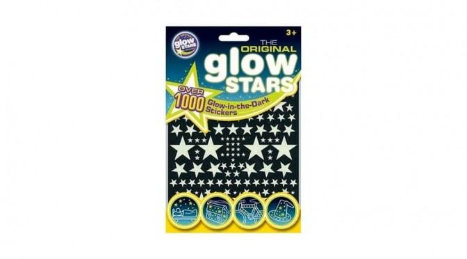 The Original Glowstars: Unas buenas y baratas estrellas adhesivas que brillan en la oscuridad