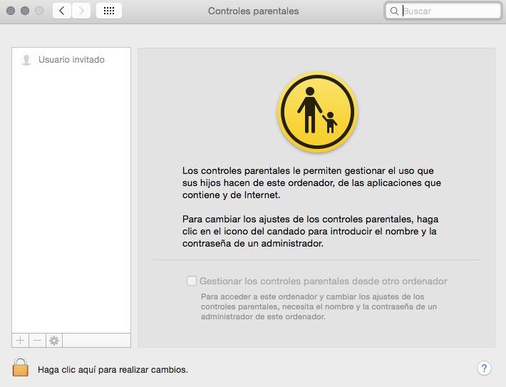 control parental mac