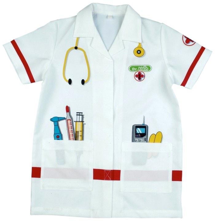 bata medico para niños