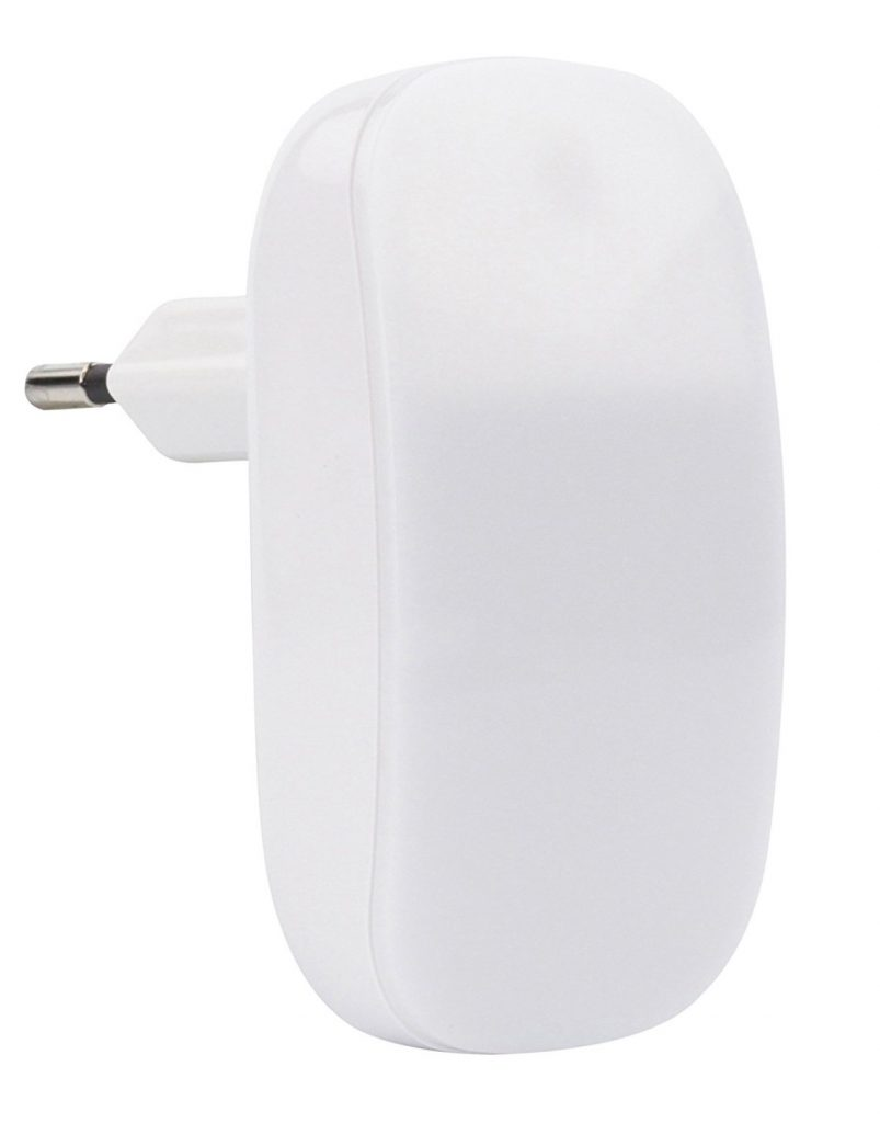 Ansmann LED-Guide Twilight - Luz de orientación LED con sensor crepuscular integrado