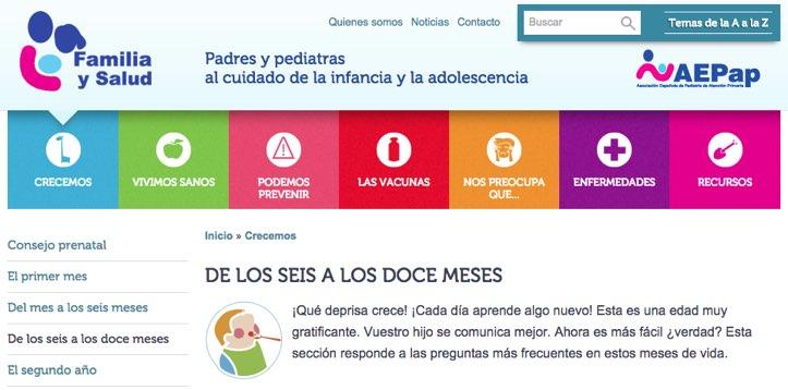 Familia y Salud WEB