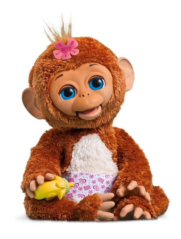 "muñeca de bebé mono ""Moni Monita"" de FurReal Friends"