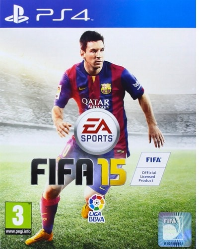 FIFA 15 (Nintendo 3DS, Nintendo Wii, PlayStation 3, PlayStation 4, PlayStation Vita, Windows, Xbox 360, Xbox One) - 45 euros