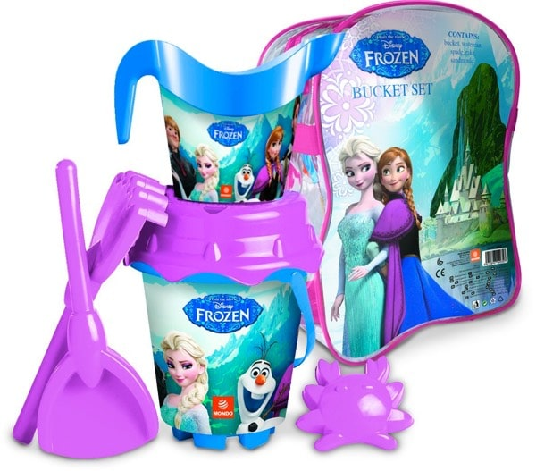 Frozen - Mochila cubo castillo, juguete para playa