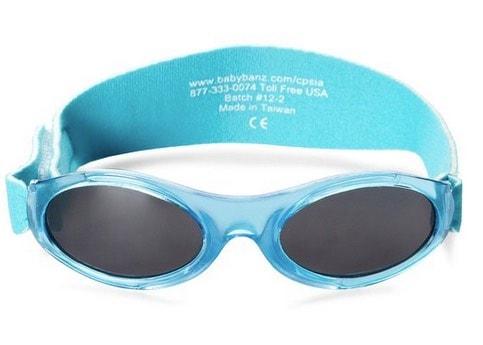 gafas de sol recomendado para bebés: babybanz