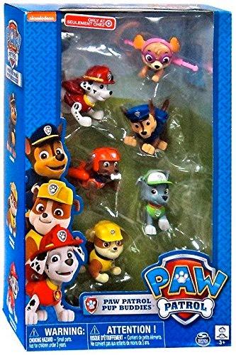 Paw Patrol Pup Buddies Figure Set