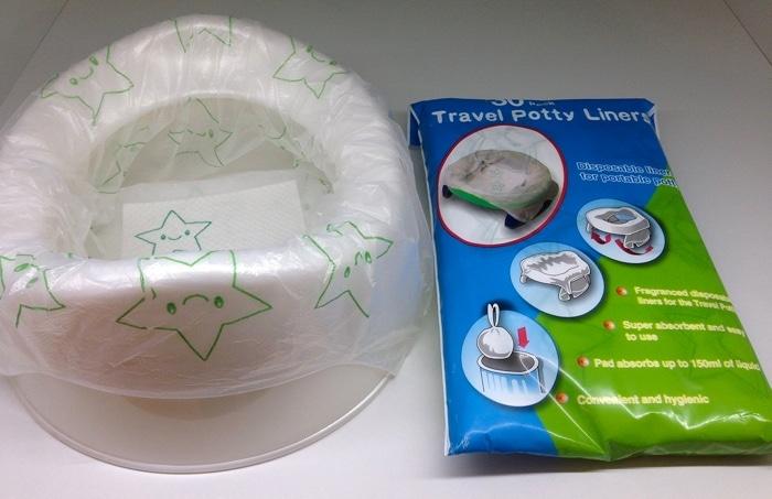 Travel Potty Liner de Venture para orinales