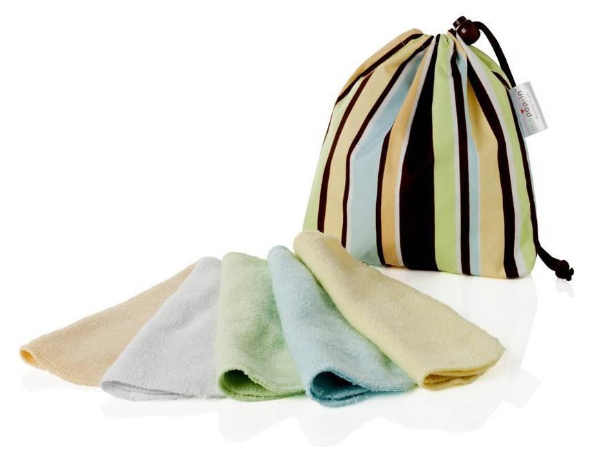 Close Parent 8921100014 - Pack de 10 toallitas lavables de bambú en colores paste