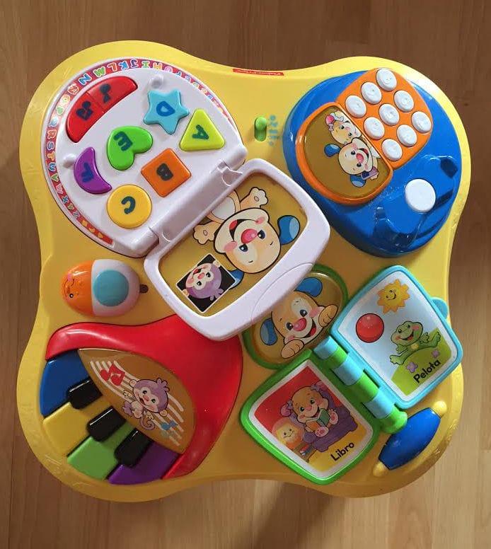 Fisher Price - Mesa aprendizaje (Mattel Y7759) - Opinión