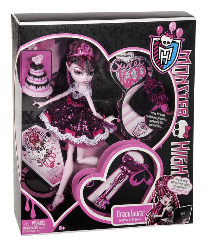 Monster High W9188 - Muñeca Draculaura