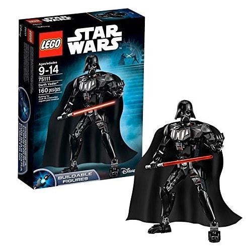 Figuras LEGO Star Wars: Darth Vader, Luke Skywalker y Jango Fett