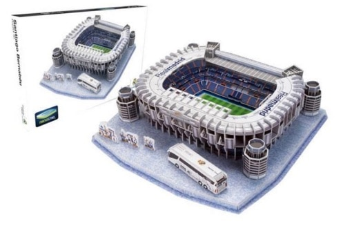 Nanostad - Estadio Santiago Bernabeu, puzzle 3D