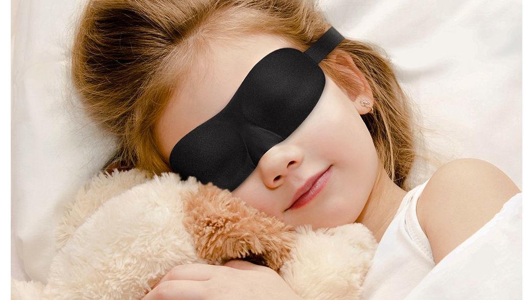 Antifaces para dormir 3D de PLEMO (adultos y niños) - Opinión