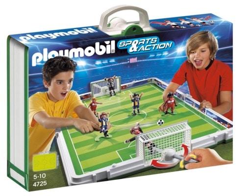 Playmobil - Fútbol: set de fútbol, maletín