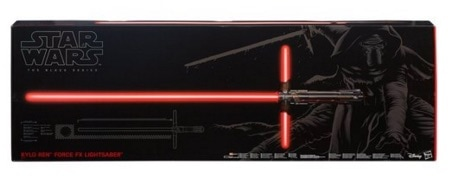 Star Wars - Kylo Ren Force FX Lightsaber, sable láser Episodio 7 (Hasbro B3925)