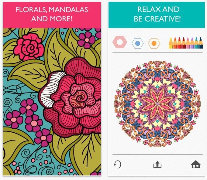 Láminas para colorear en tu tablet