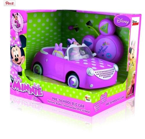 Disney - Coche con radiocontrol con diseño Minnie