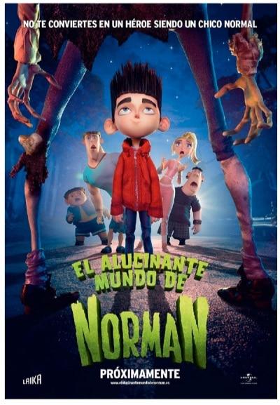 El Alucinante Mundo De Norman [Blu-ray]