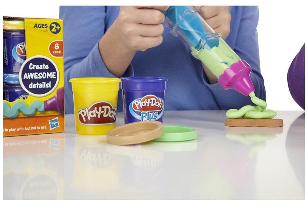 Confitería Glasé de Play-Doh: la plastilina como arte en manos de unos niños