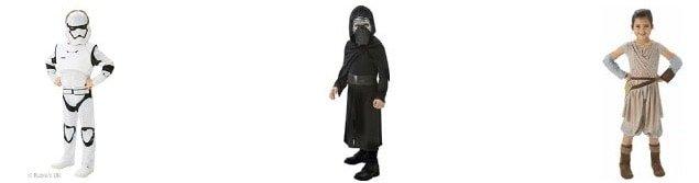 Los disfraces más populares para niños y niñas en los carnavales 2016: star Wars
