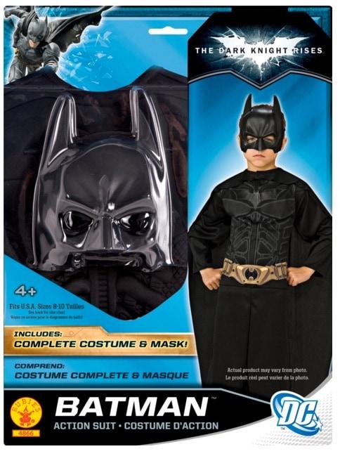 Batman I-4866 - Disfraz de Batman el caballero oscuro (talle 8 - 10 años)
