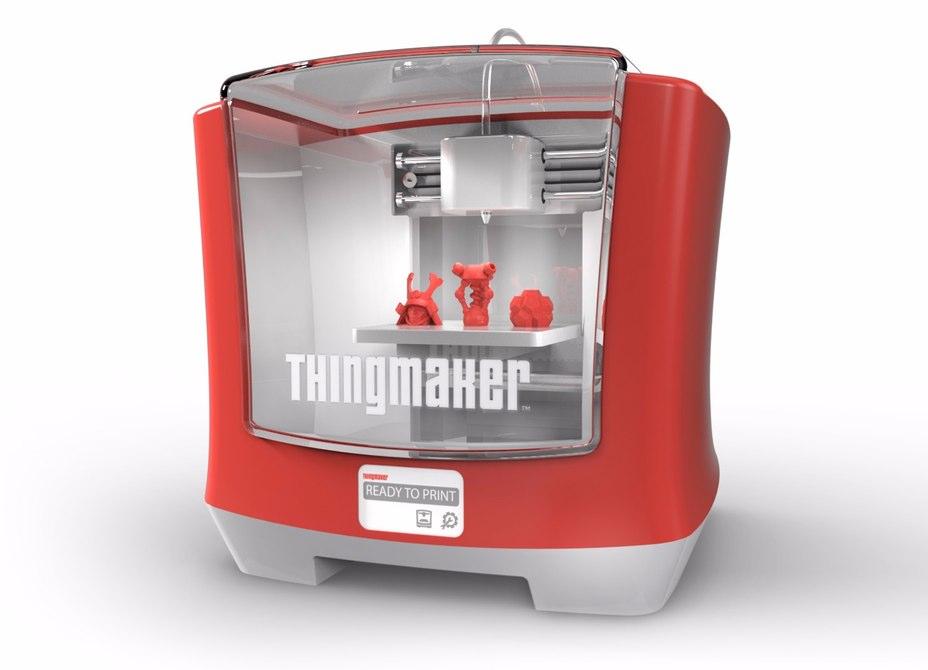 ThingMaker 3D, la impresora para que los niños impriman sus propios juguetes