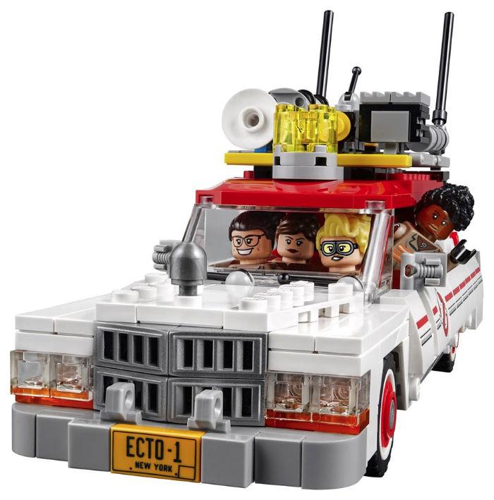 LEGO Ghostbusters Ecto- 1&2 – Los nuevos juguetes de LEGO para Cazafantasmas