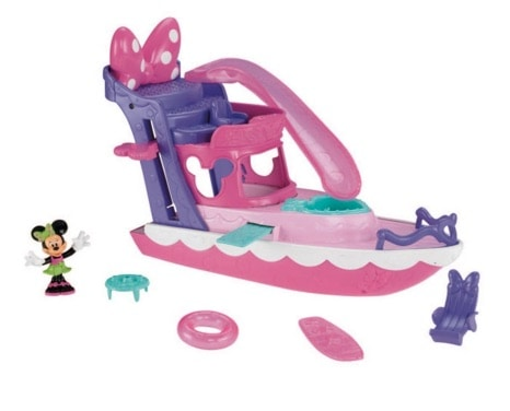 Mickey Mouse Clubhouse - Yate de Minnie (Mattel Y1897)