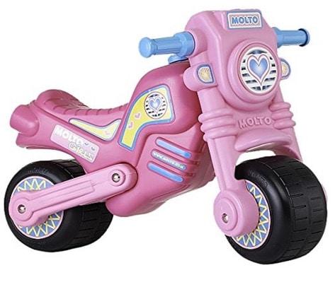Molto - Moto cross clásica, color rosa