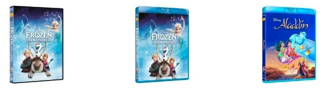 """Promoción 2x1 en DVD y Blu-Ray de """"Princesas Disney"""""""