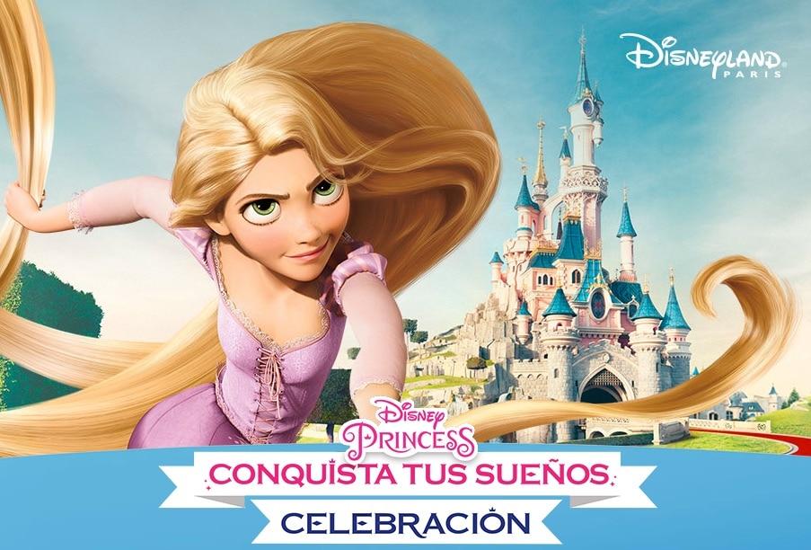 """concurso se llama """"Princesas Disney. Celebración Conquista tus Sueños"""""""