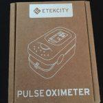Etekcity PulsiOxímetro de dedo y monitor de frecuencia cardíaca