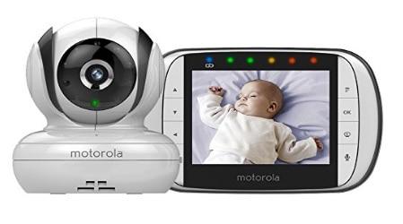 """Motorola MBP36S - Vigilabebés vídeo con pantalla a color de 3.5"""""""