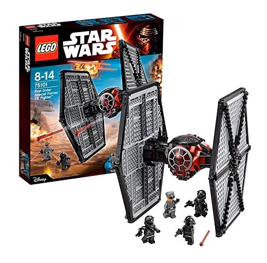 LEGO Star Wars - Set First Order Special Forces TIE Fighter, multicolor (75101)