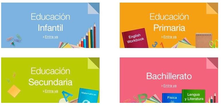 Dónde comprar libros de texto para el colegio con garantía de devolución