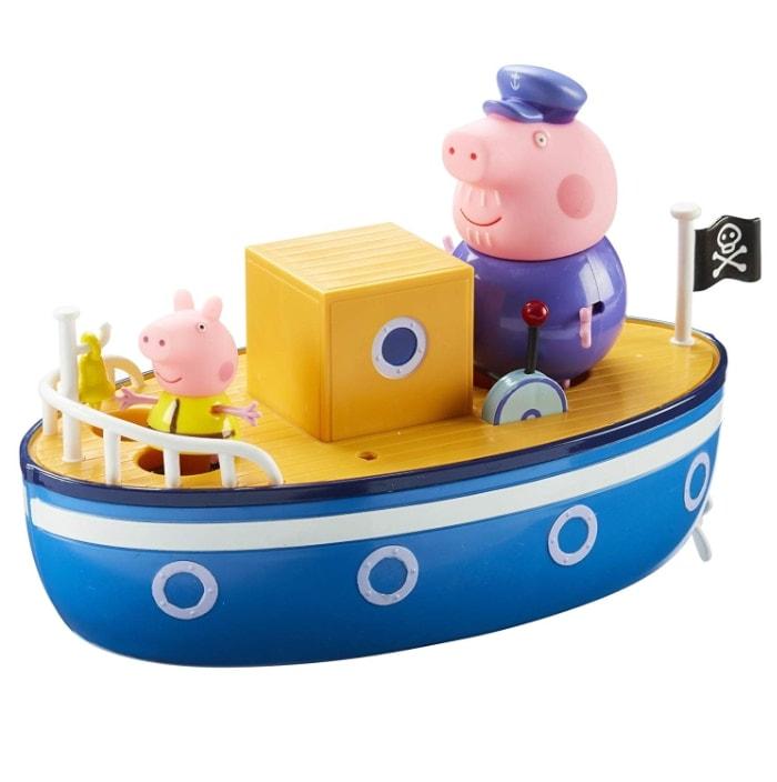 Peppa Pig – Barco del Abuelo Pig para Jugar en la bañera